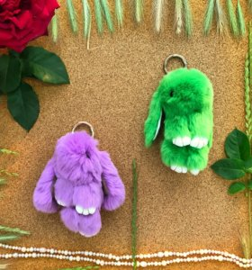Брелок игрушка зайка кролик