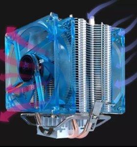 Светодиодный кулер на процессор