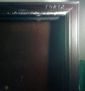 Дверь входная железная, 85 см. киевский проект