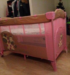 Манеж - кровать