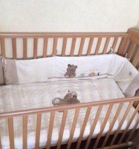 Детская кроватка mothercare