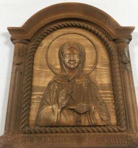 Икона св.блаженной Матроны 29*26