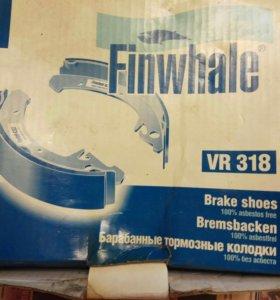 Колодки тормозные ВАЗ-2108 задние FINWHALE
