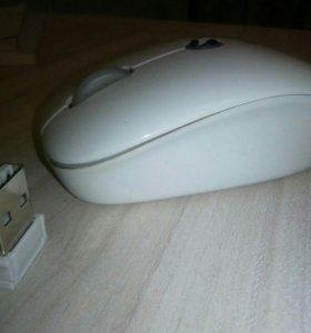 Мышь офисная безпроводная с гнездом для флешки