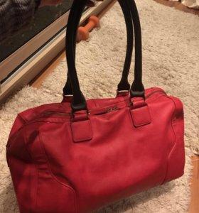 Новая красная сумочка!