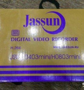 Видеорегистратор Jassun 4канала (AHD/TVi/CVi/CVBS)