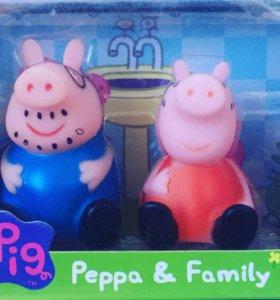 Набор героев из м/ф «Свинка Пеппа»