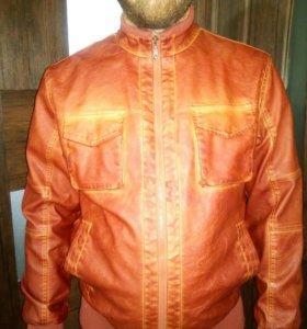 Куртка кожзам осенняя новая