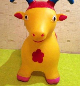 Игрушка- прыгунок- Коза