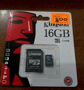 Карта памяти micro 16GB