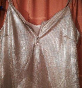Новое франция Вечернее коктельное платье стрейч 48
