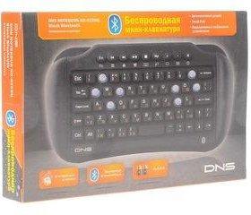 Блютуз мини-клавиатура DNS,для планшетов