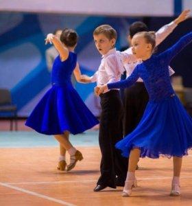 Платье для спортивно-бальных танцев, торг