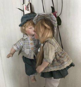 Статуэтка «Дети на качелях»