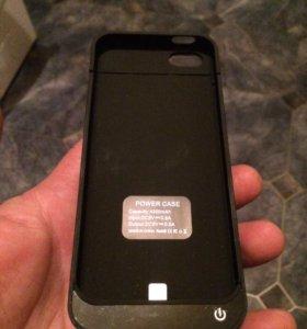 Чехол зарядка для iPhone 5,5s