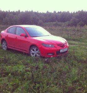 Стекло с задней левой двери Mazda 3 2006г седан
