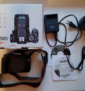 Фотоаппарат Canon EOS 550D с объективом 18-55