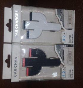 USB Разветвитель в прикуриватель