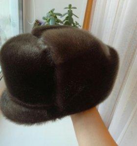 Продам норковую мужскую шапку