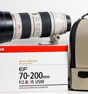 Canon EF 70-200mm f/2.8L IS USM со стабом