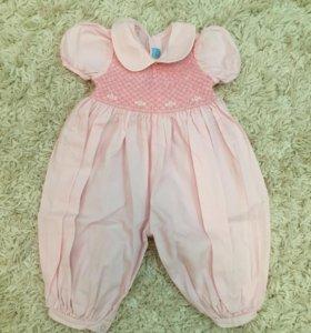 Платье комбез  на девочку 2 лет