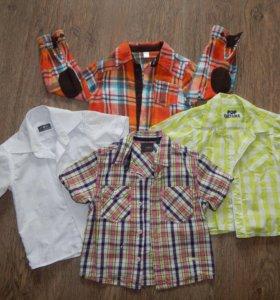 Рубашки на мальчика 1-2 г