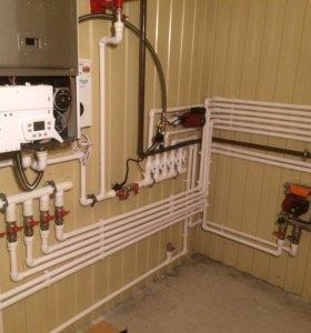 Отопление,водоснабжение,канализация.