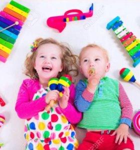 Музыкальные занятия для детей от 3-5 лет