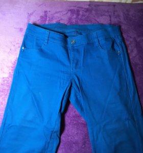 Продам штаны синие