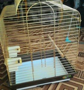Клетка для птиц 70х49х38