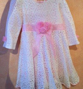 Платье на девочку размер 116