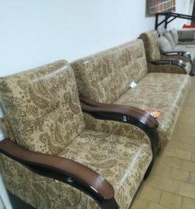 Диван и 2 кресла раскладные
