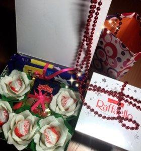 Букет 💐 с конфетами