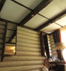 Деревянные балки для потолка