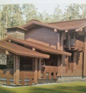 Шлифовка,Покраска деревянных домов