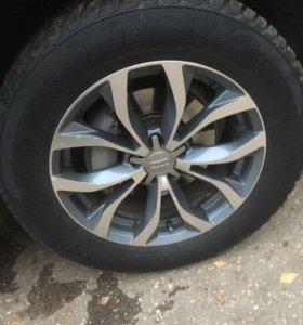 Колёса от Ауди 4 шт с дисками