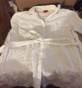 Длинная блузка woolstreet