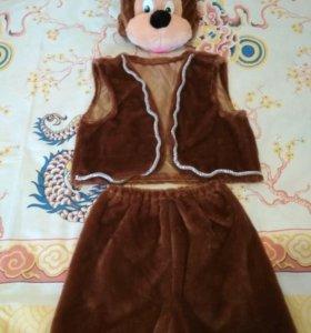 Новогодний костюм медведя.