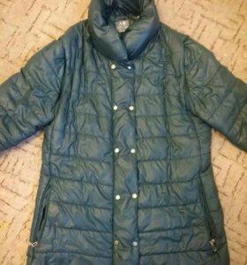 Куртка 48р тёплый демисезон