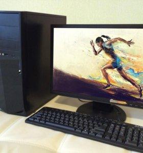 Пк Acer i5 + 24 Монитор, 4Gb, Geforce 2Gb, 500Гб