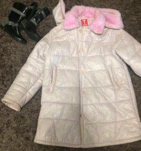 Пальто и сапоги детские