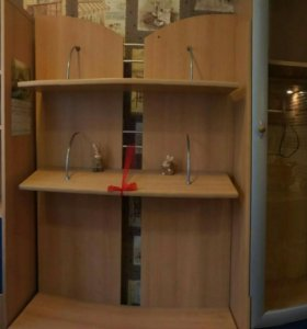 Стенка 2 шкафа с тв-тумбой