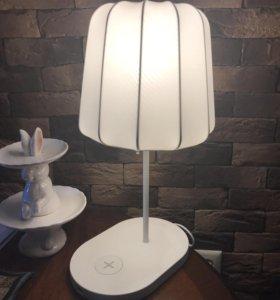 Лампа для беспроводной зарядки телефона varv
