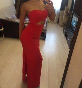Love republic красное платье