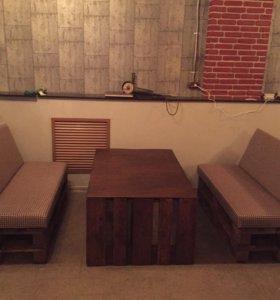 Мебель из поддон