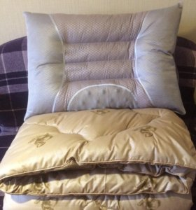 Подушки и одеяла