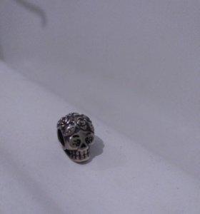 Серебренная подвеска на браслет