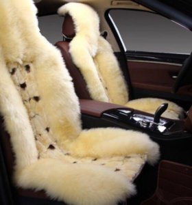 Меховые авто накидки - 100% натурал.овчина+Заяц!!!