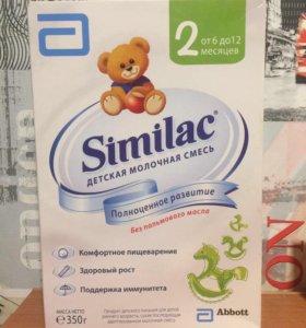 Детская смесь similac 2