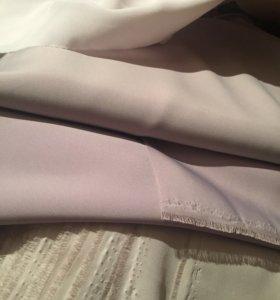 Ткань для шитья, шёлк, большие отрезы